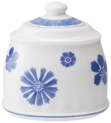Villeroy & Boch Farmhouse Touch Blueflowers Zuckerdose 6 Pers. 0,45l -