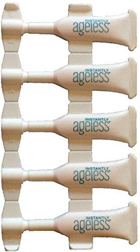 Instantly Ageless, 5Ampullen x 0,6ml, leistungsstarken Anti-Falten-Creme, belebt die Haut und vermindert das Erscheinungsbild von feinen Linien