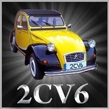 Citroen 2CV6 COCHE clásico de posavasos