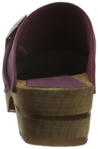Sanita Damen Urban Open Clogs Violett (melanzane 47)