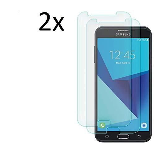 Cardana 2X Bruchsicheres Panzerglas für Samsung Galaxy J7 2017 / J7 Duos Schutzfolie aus 9H Echt Glas Next Gen Transparent