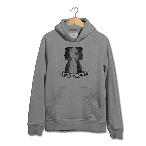 SMARTYPANTS Trust No One - X-Files TV Show Inspired Hoodie