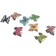 Gazechimp PVC Tiere Sammelung Figur Lernspiel - Schmetterling / Dinosaurier / Meerestiere / Fisch Spielfigur Tierfiguren Set - Kinder Pädagogische Spielzeug