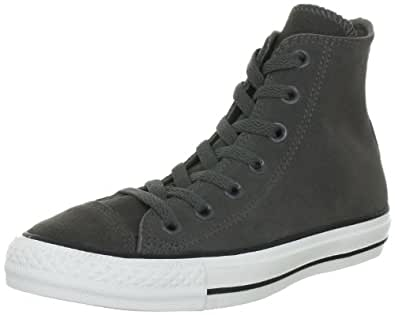 Converse Chuck Taylor All Star Suede Charcoal 117289, Unisex - Erwachsene Fashion Sneakers, Grau (Charcoal), EU 36 (US 3.5)