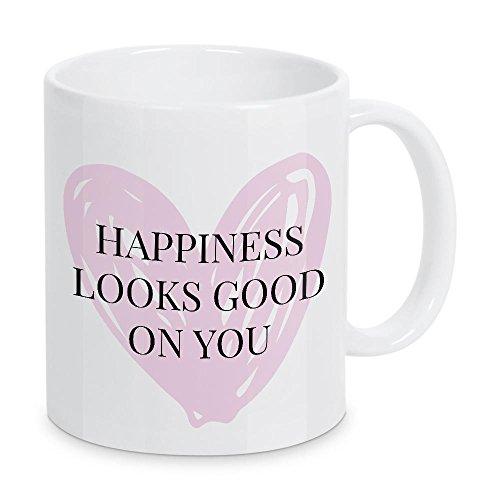 41ERyPQbmkL Tassen für das Glück und Glücklichsein - Happiness