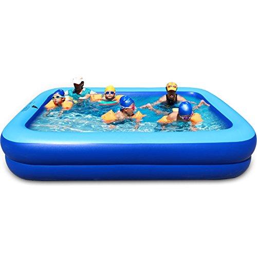 ASL Famille gonflée pli piscine surdimensionné 260 * 170 * 47cm piscine de sable à la maison extérieur plus épais jeu piscine piscine pour adultes piscine bains baignoire cylindre pots Nouveau ( Size : 260*170*47CM )