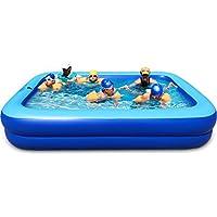 ASL Familia inflada plegable piscina de gran tamaño 260 * 170 * 47 cm piscina de