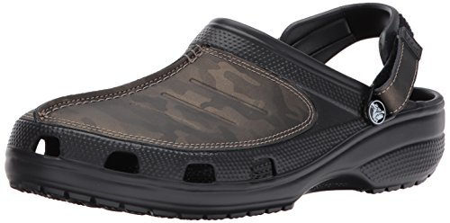 Crocs - Männer Yukon Mesa Camo Clog Schuhe, EUR: 39.5, Black/Camo (Herren Crocs Yukon)