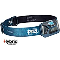 Petzl TIKKINA - Linterna (Linterna con cinta para cabeza, Azul, IPX4, 1 lámpara(s), 60 lm, AAA/LR03)