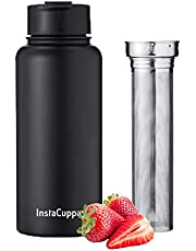 InstaCuppa Thermos Fruit infusion Bottle with Full Length S