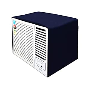 Lithara Blue Colored Window AC Cover for Panasonic PC1817YA 3 Star 1.5 ton ac