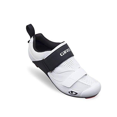 Giro Inciter Tri Triathlon Fahrrad Schuhe weiß/schwarz 2017