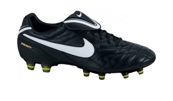 445a4fe239f Nike Tiempo Legend III FG Football Boots 366201 017 Colour  Black White Volt   Amazon.co.uk  Shoes   Bags