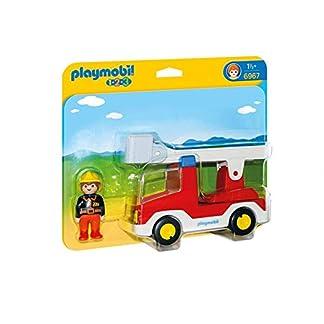 Playmobil 1.2.3 – 1.2.3 Camión de Bombero (6967)
