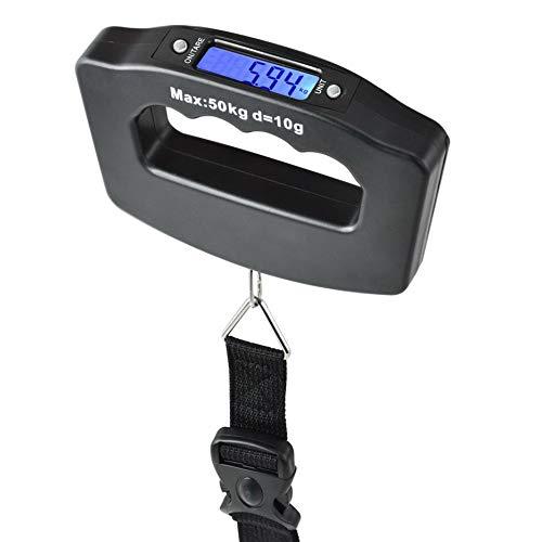 Digitale Kofferwaage bis 50 KG Gepäckwaage Reisewaage Handwaage Luggage Scale günstig digital digitatale für Reisen