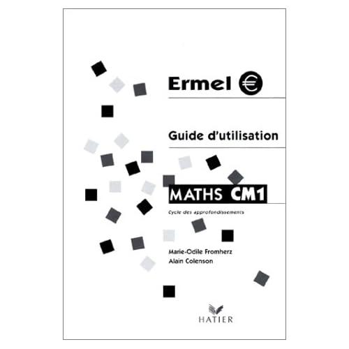Maths CM1, guide d'utilisation