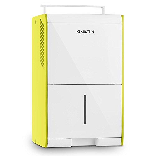Klarstein Drybest 10 deumidficatore depuratore d'aria a compressione (205W, 1,9 litri, 10l/24h,filtro aria integrato, funzione no frost, 3 livelli, spie a LED, mobile) - verde
