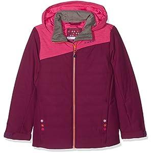 Ziener Kinder AIZA Jacket ski Skijacke, Plumberry