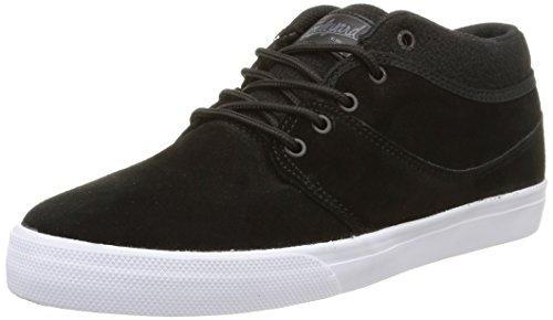 Globe Mahalo Unisex-Erwachsene Hohe Sneakers Schwarz (20111 black/jungle)