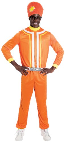 Gabba! Dj Lance Rock Kostüm für Erwachsene M (Dj Yo Gabba Gabba)