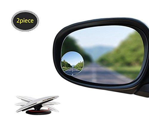 Tondo Rotondo Spot.Spot Cieco Per Specchio Laterale Auto Specchio Angolo Morto Convesso Vetro Rotondo Tondo Specchio Retrovisore Regolabile Per Rotazione Di 360 Gradi