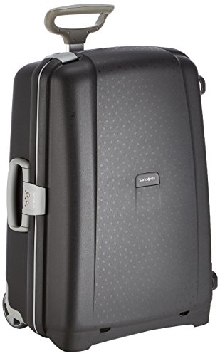 Samsonite Aeris Valigia, Upright 64 (65cm-64.5L), Nero (Black)
