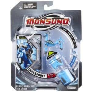 Monsuno - 7752 - Figurine - Starter Pack 1 Animal + 1 Coré - Quick forcé