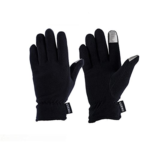 WM Polar Fleece warme Touch-Screen-Handschuhe, winddicht & wasserdicht Handschuhe, Winter warm kalt niedrige Temperaturbeständigkeit Männer und Frauen allgemein - W0-7004