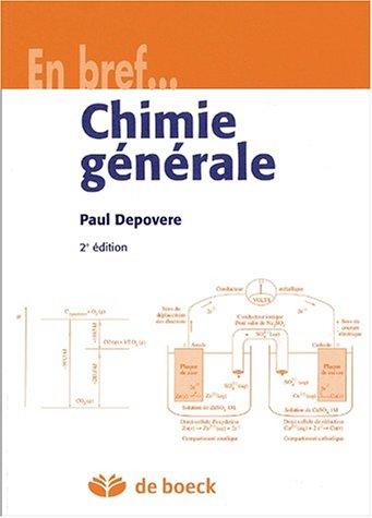 Chimie générale. 2ème édition