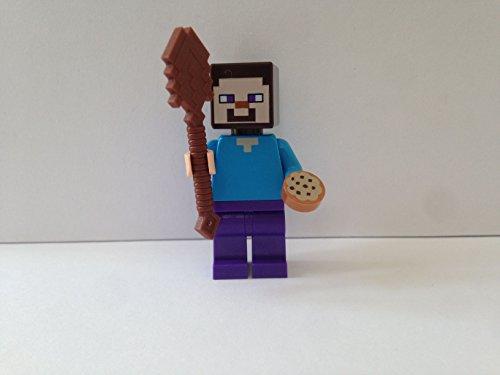 MC Lego Figur Steve -- Minecraft -- (aus Set 21144)