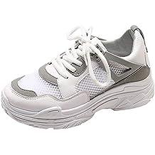 d89926d2750a7 Zapatos Deportes casual de malla para mujer