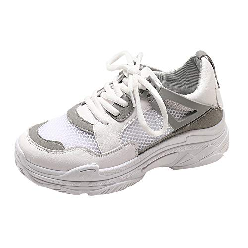 Fond épais Sneakers, LuckyGirls Mode Nouveau Automne Hiver Femmes Wedges Sneakers Chaussures à Shake Fond épais Chaussures Fashion Filles Chaussures de Sport 35-40