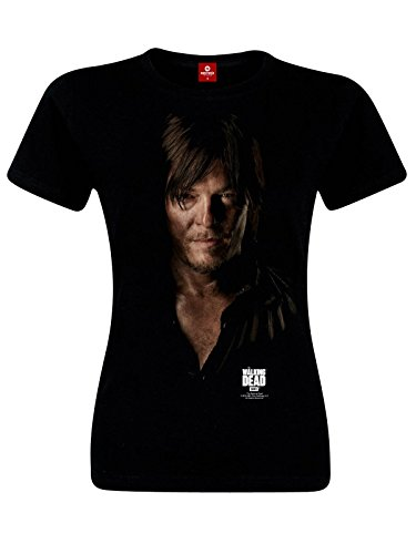 The Walking Dead Daryl Dixon Maglia donna nero XXL