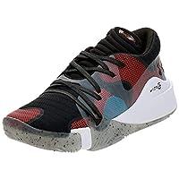 Under Armour UA Spawn Low, Men's Basketball Shoes, Black (Black/White/Black 002), 9 UK (44 EU)