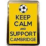 Cambridge United F.C - Keep Calm Fridge Magnet