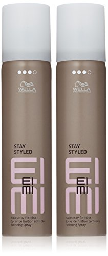 Wella EIMI Stay Syled Finishing Spray, 2er Pack, (2x 75 ml)