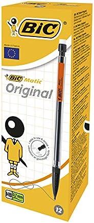 BIC Matic Original Porte-Mines - 0,7 mm HB, Boîte de 12