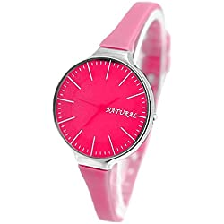 10FW788G Pink Dial Pink Band PNP Shiny Silver Watchcase Ladies Women Fashion Watch