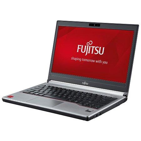 Fujitsu LIFEBOOK E734 VFY:E7340M77APDE 33,8 cm (13,3 Zoll) Laptop (Intel Core i7 4712MQ, 8GB RAM, 256GB SSD, DVD, Win 10 Pro) schwarz