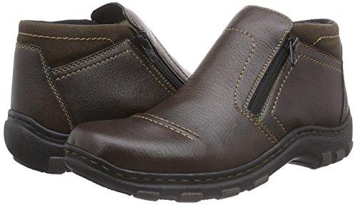 TOP Stiefeletten Damenschuhe SchnurKurzschaft Boots Used 5dvz Camel 37