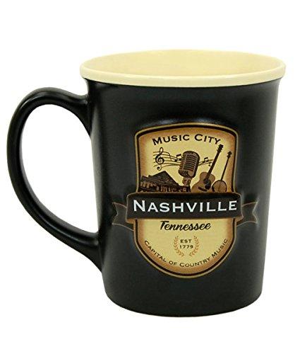 Americaware semnvl01Nashville Emblem Tasse (Nashville-kaffee-tasse)
