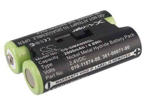 Batterie kompatibel mit Garmin 010-01550-00, Astro 430-Handheld, Oregon 600, Oregon 600t, Oregon 650, Oregon 650t, Sturm 4, Striker 4 Fishfinder Teil Nr. 010-11874-00, 361-00071-00 Handheld-fishfinder