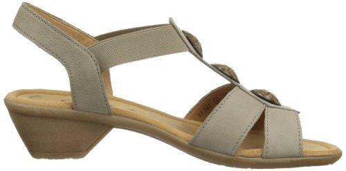 Gabor Shoes Gabor 84.542.12 Damen Sandalen Grau (visone)