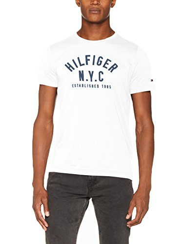 Tommy Hilfiger Herren T-Shirt Wcc Chase C-Nk Tee S/S Rf