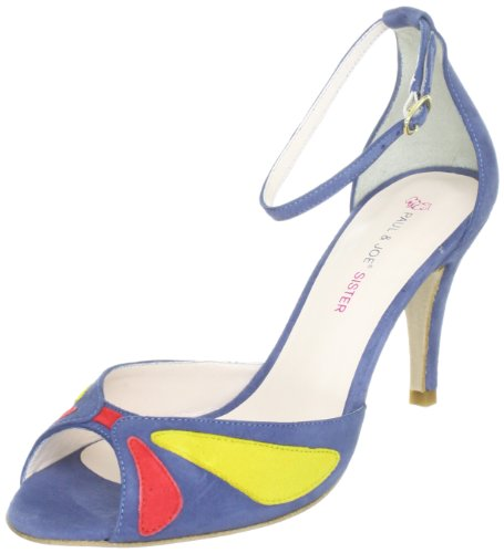 Paul & Joe Sister DOROTHE 211804-50, Sandali donna, Blu (Blau (MULTICOLORE 2)), 41