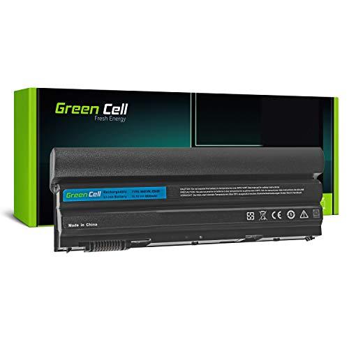 Green Cell® Extended Serie 8858X M5Y0X T54FJ Laptop Akku für Dell Latitude E5420 E5430 E5520 E5530 E6420 E6430 E6440 E6520 E6530 E6540 (9 Zellen 6600mAh 11.1V Schwarz)