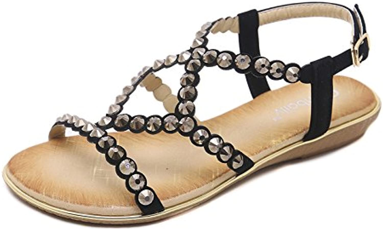 YMFIE Le scarpe da spiaggia antiscivolo da spiaggia per le vacanze estive al mare moda casual estiva rivetti comodi...   Qualità Primacy    Uomo/Donne Scarpa