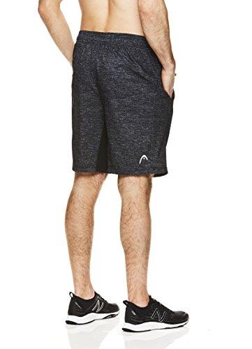 HEAD-Mens-Ace-Woven-Workout-Gym-Running-Shorts-wElastic-Waistband-Drawstring