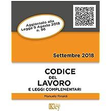 Codice del lavoro e leggi complementari (Codici Tascabili)