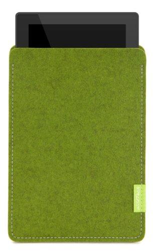 WildTech Sleeve für Google Pixel C Tablet mit Tastatur Hülle Tasche - 17 Farben (Handmade in Germany) - Farn
